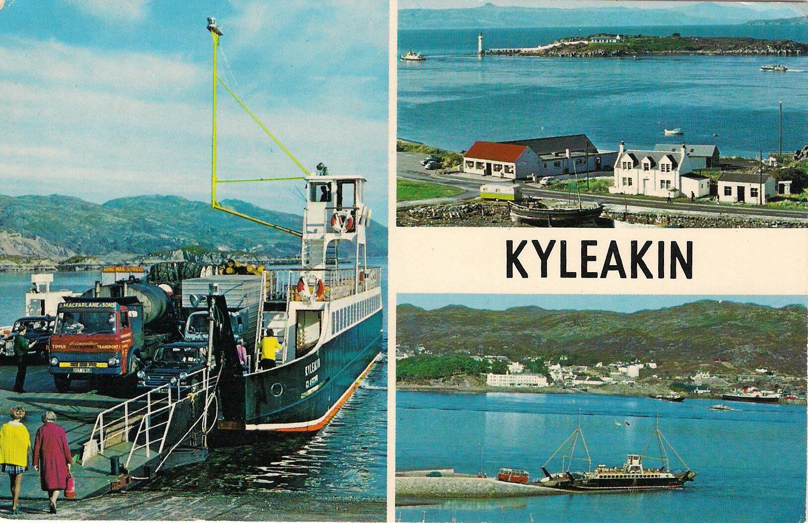 Postcard of Kyleakin and Lochalsh