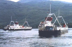 Loch Fyne and Loch Dunvegan in the Kyle