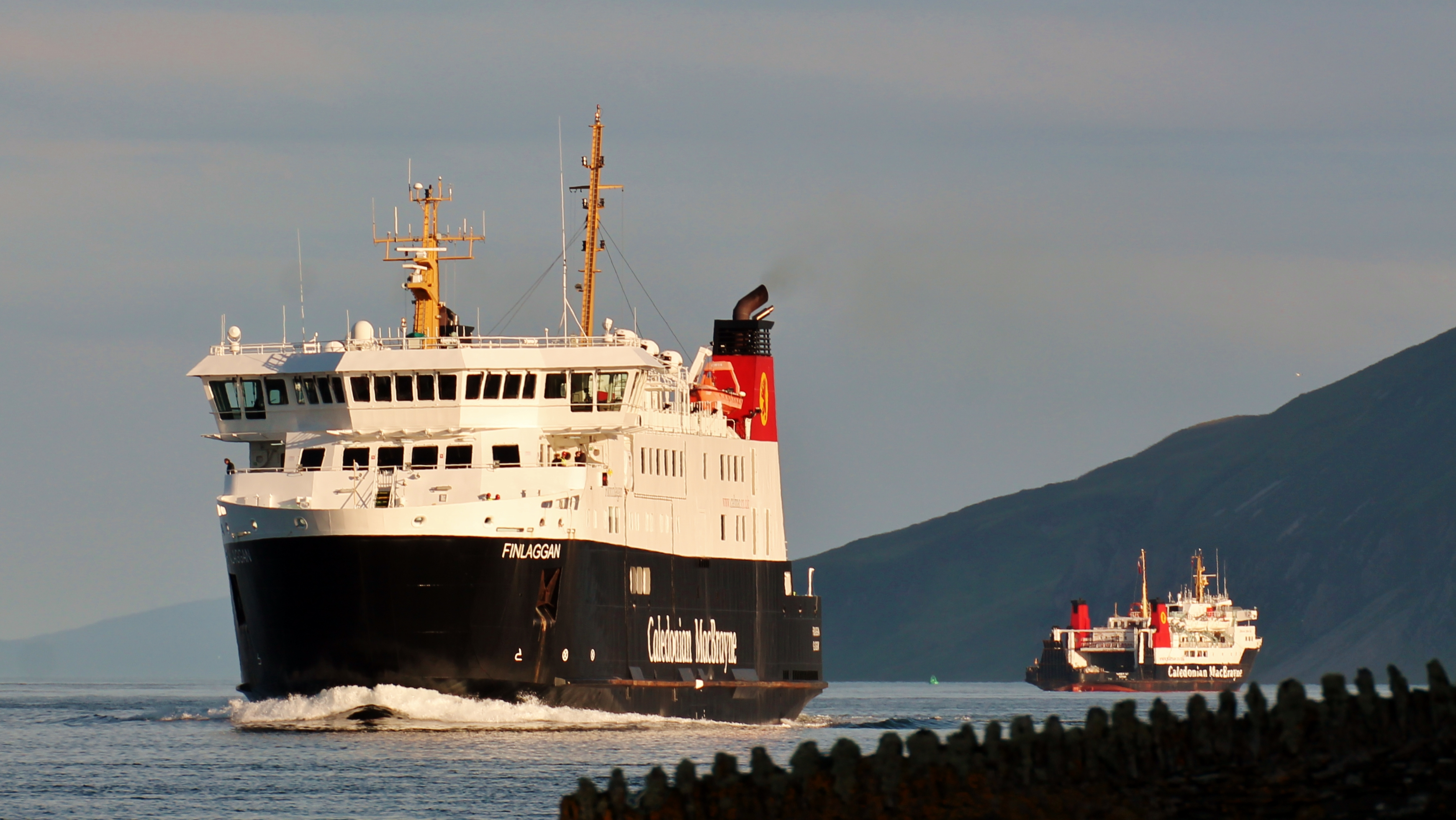 Finlaggan and Hebridean Isles in the Sound of Islay (Ships of CalMac)