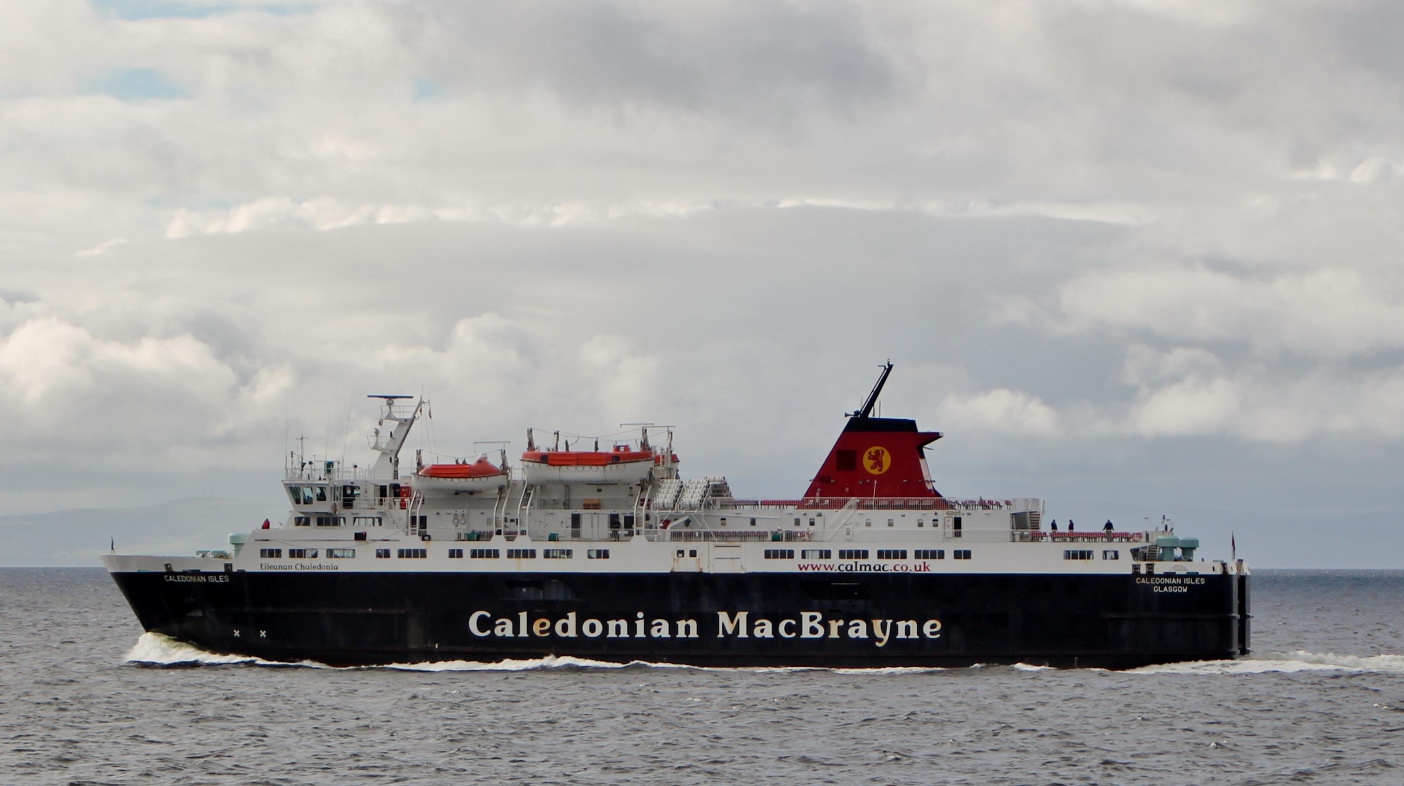 Caledonian Isles crossing to the mainland (Ships of CalMac)
