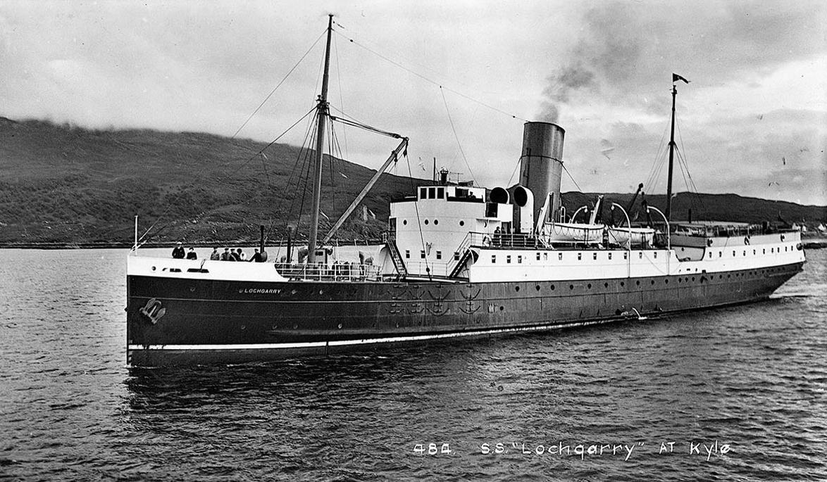 Lochgarry off Kyle of Lochalsh