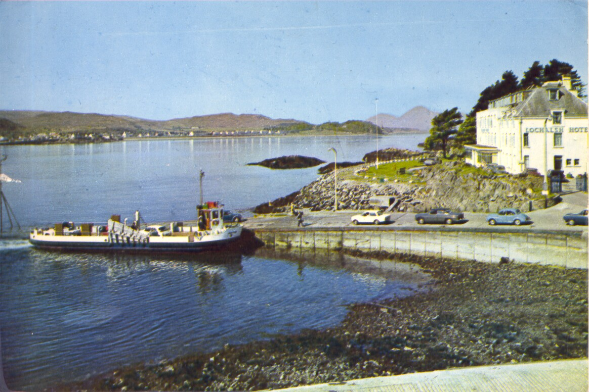 At Kyle of Lochalsh