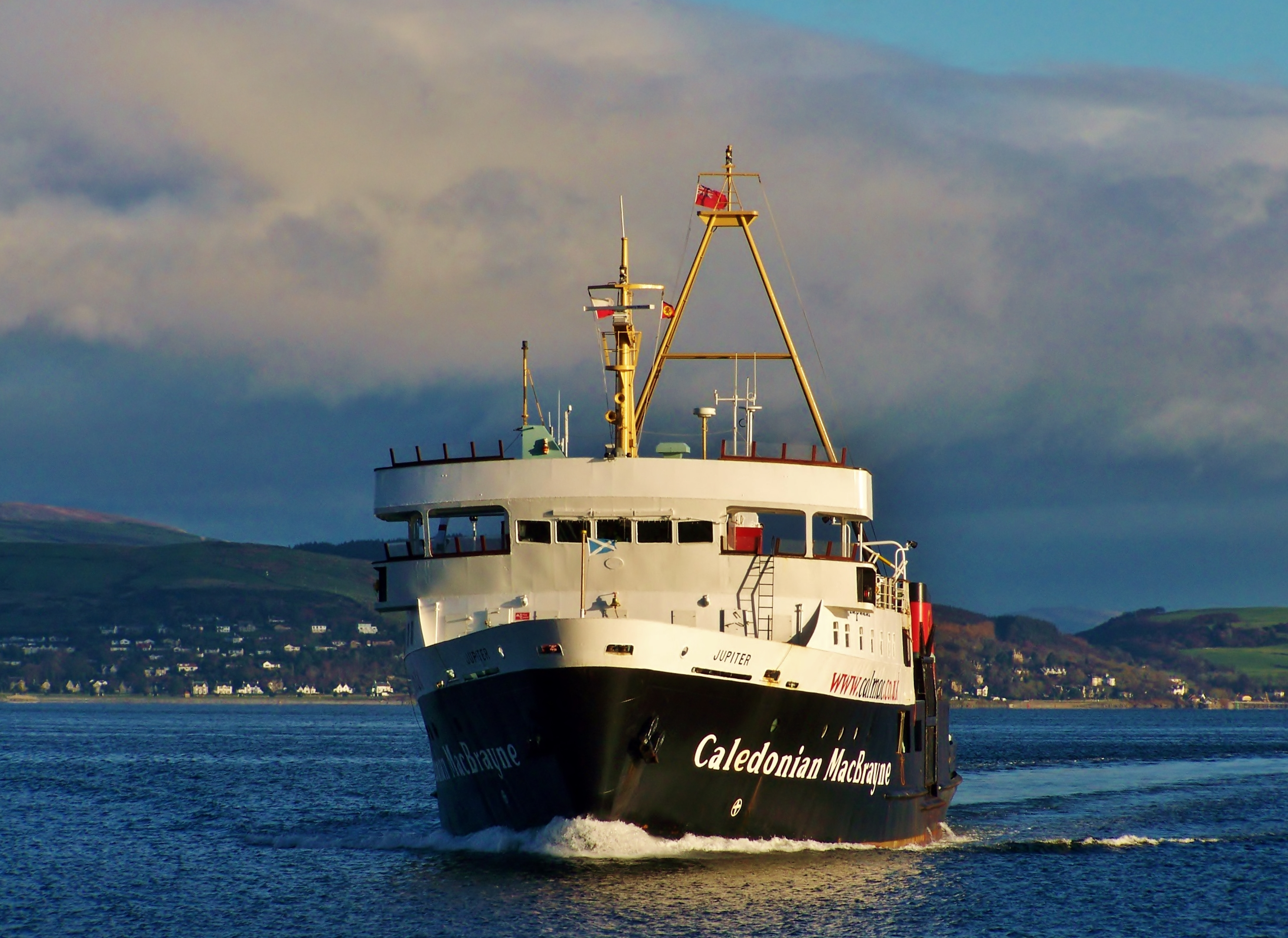 Jupiter arriving at Dunoon (Ships of CalMac)