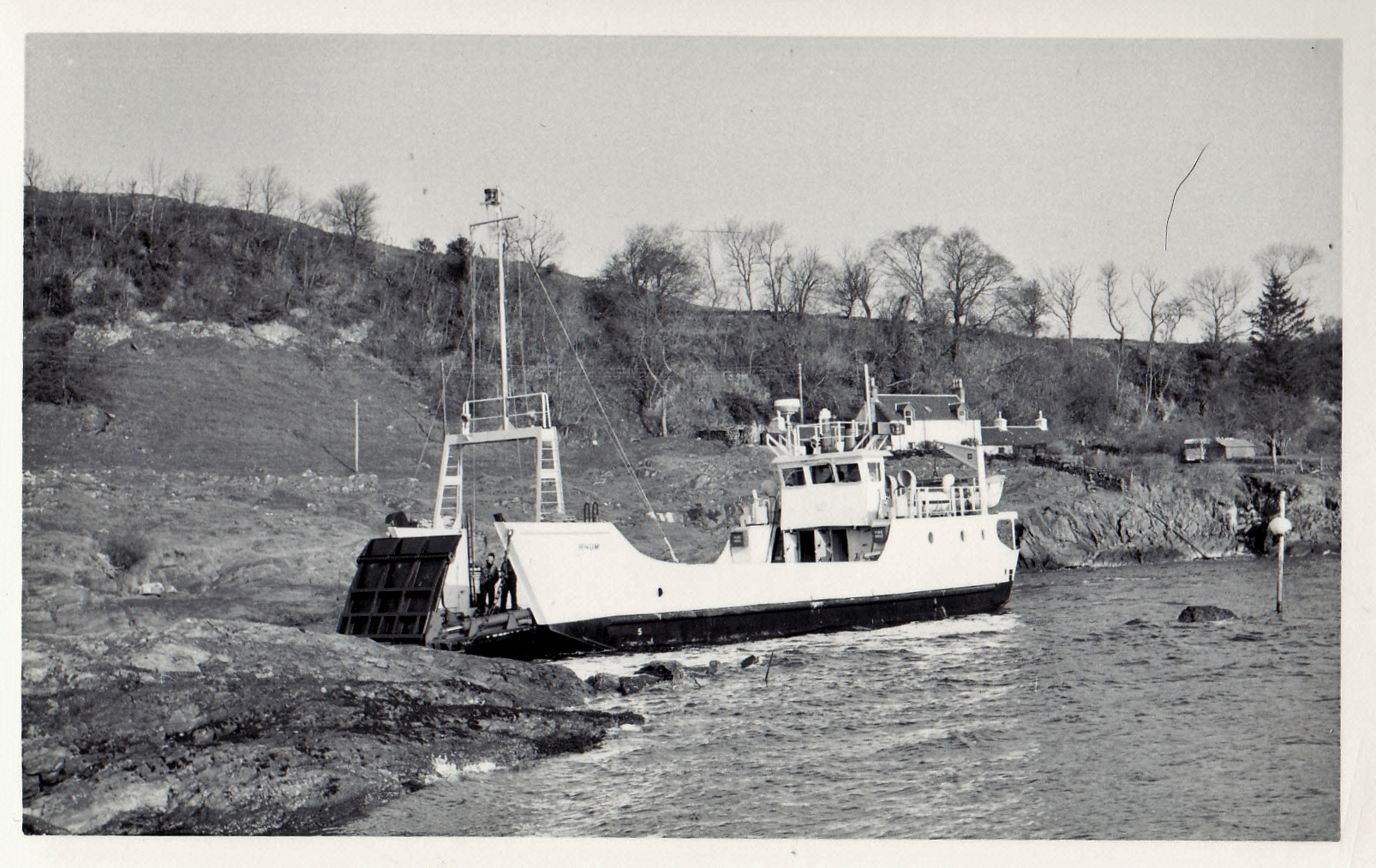 Rhum at Lismore slipway (Jim Aikman Smith)