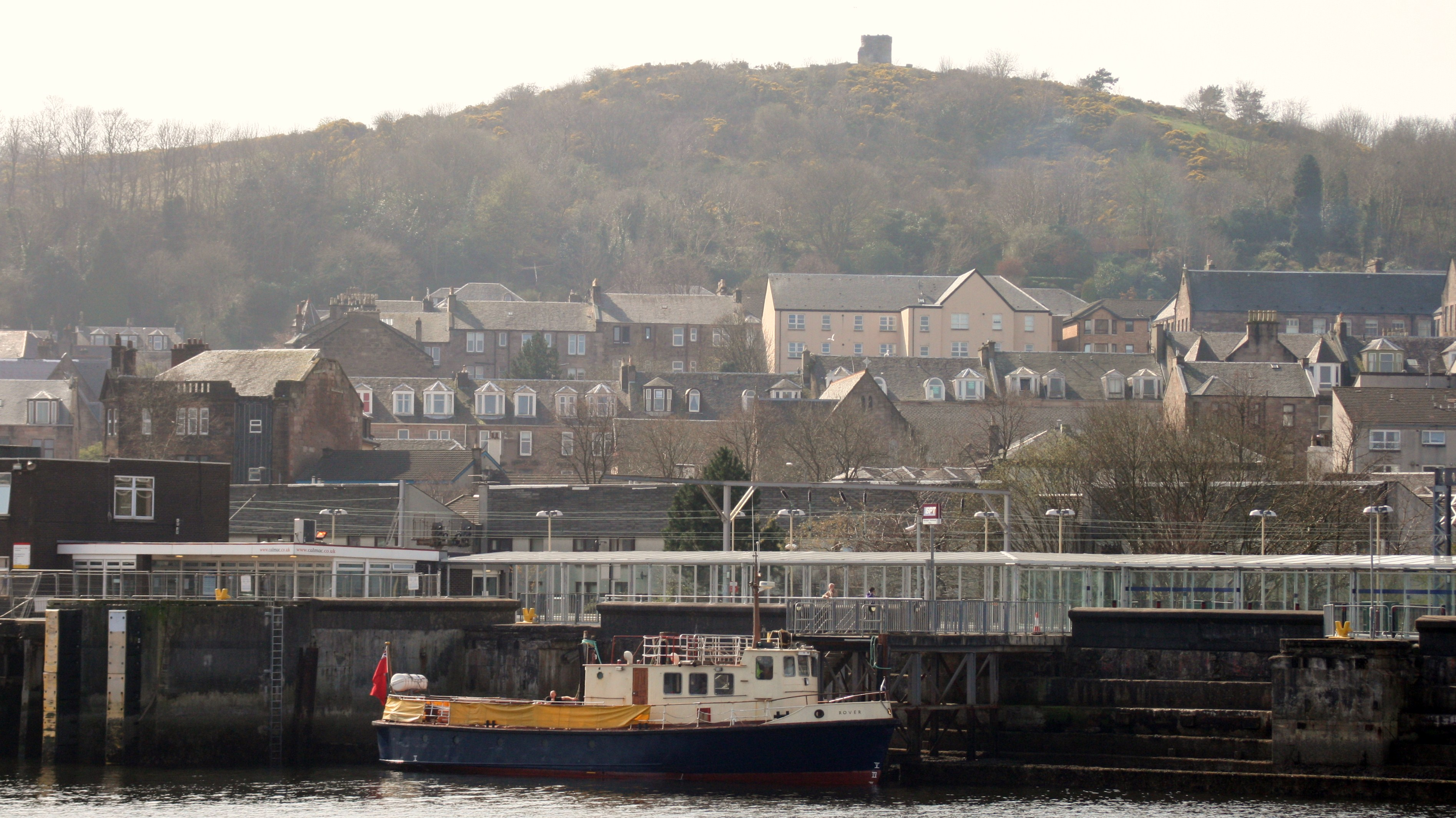 Rover at Gourock (Ships of CalMac)