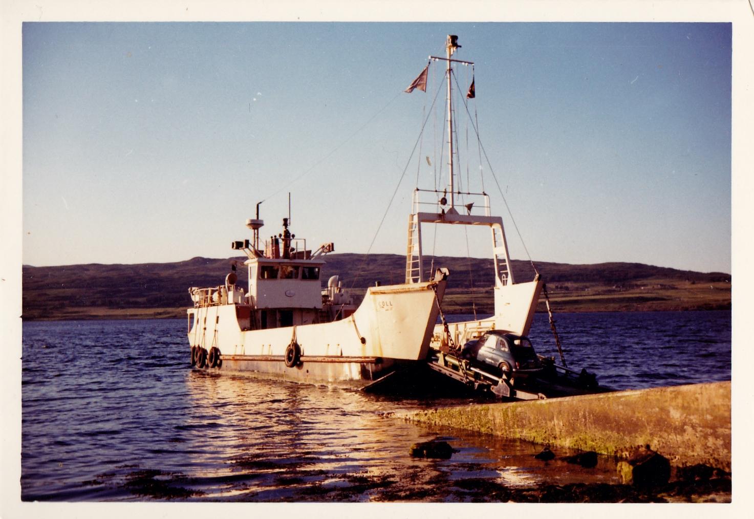 Coll loading at Fishnish (Jim Aikman Smith)