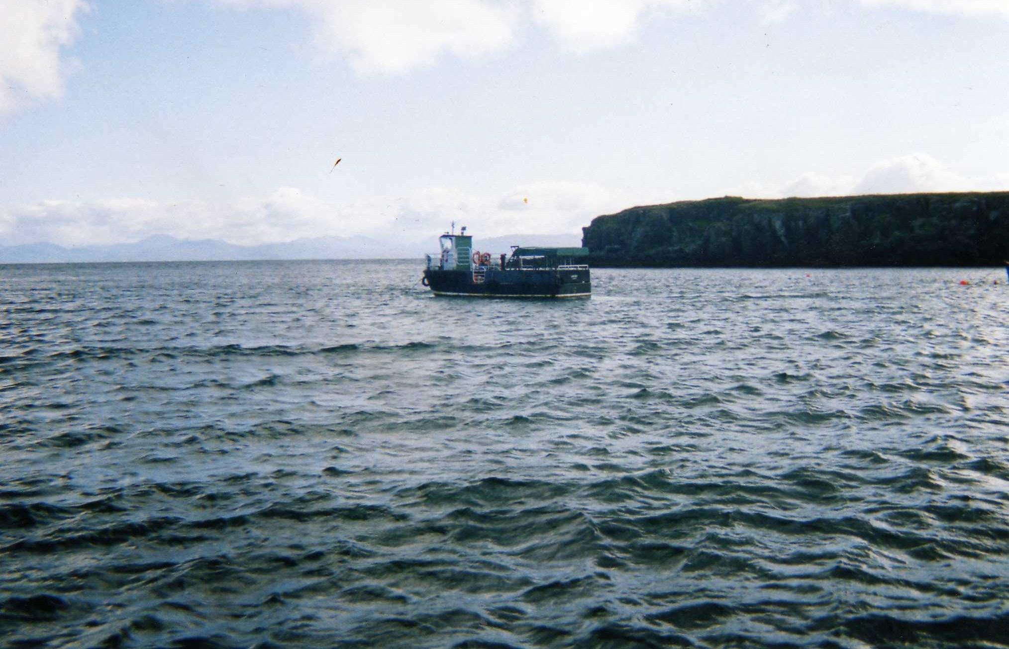 At anchor off Eigg