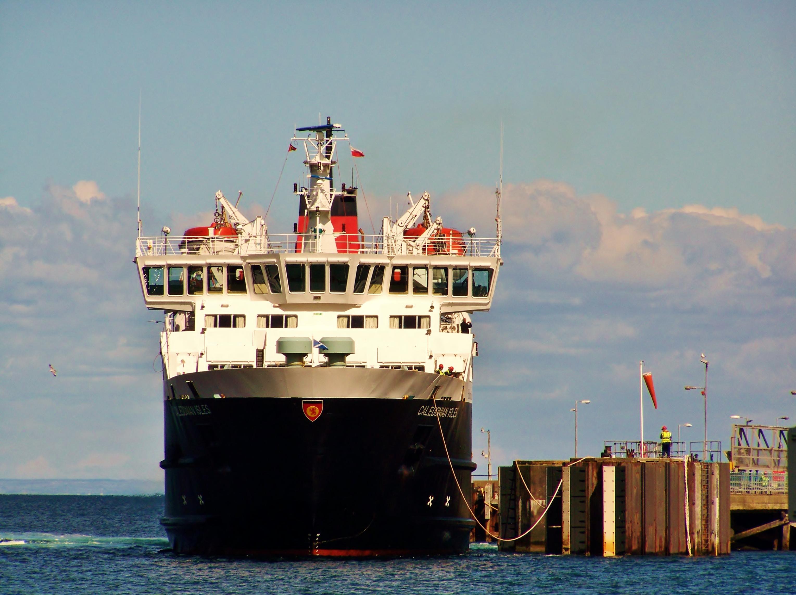 Caledonian Isles arriving at Brodick (Ships of CalMac)