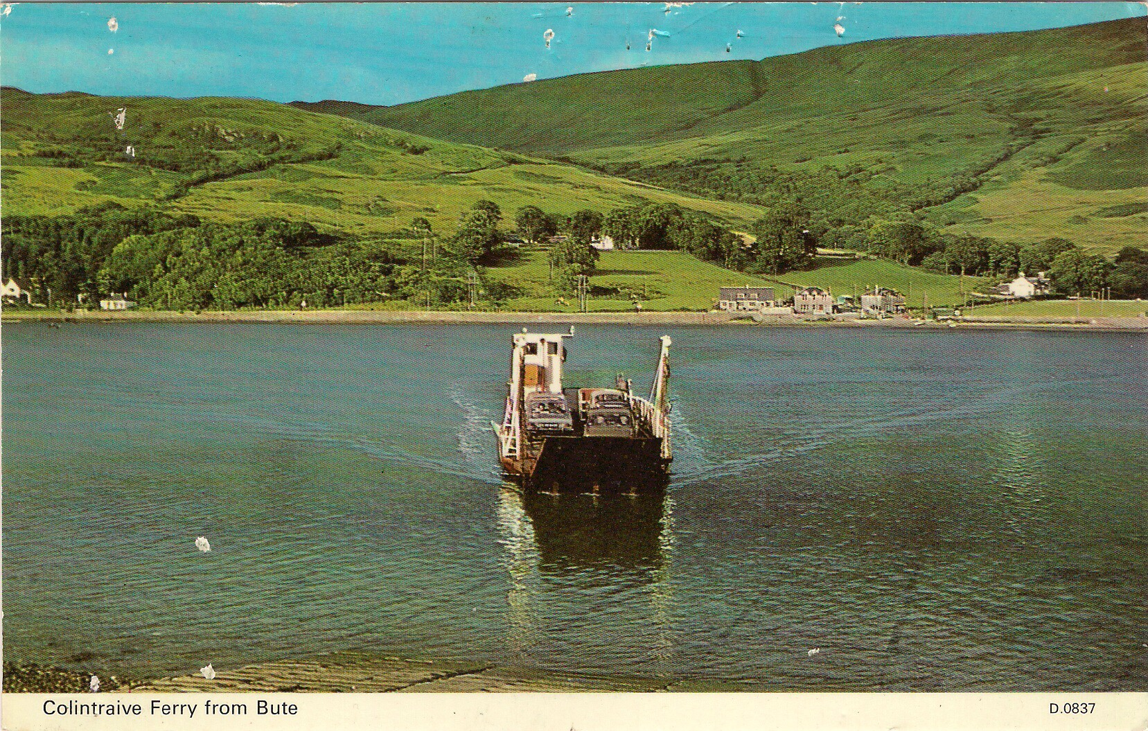 Dhuirnish approaching Rhubodach