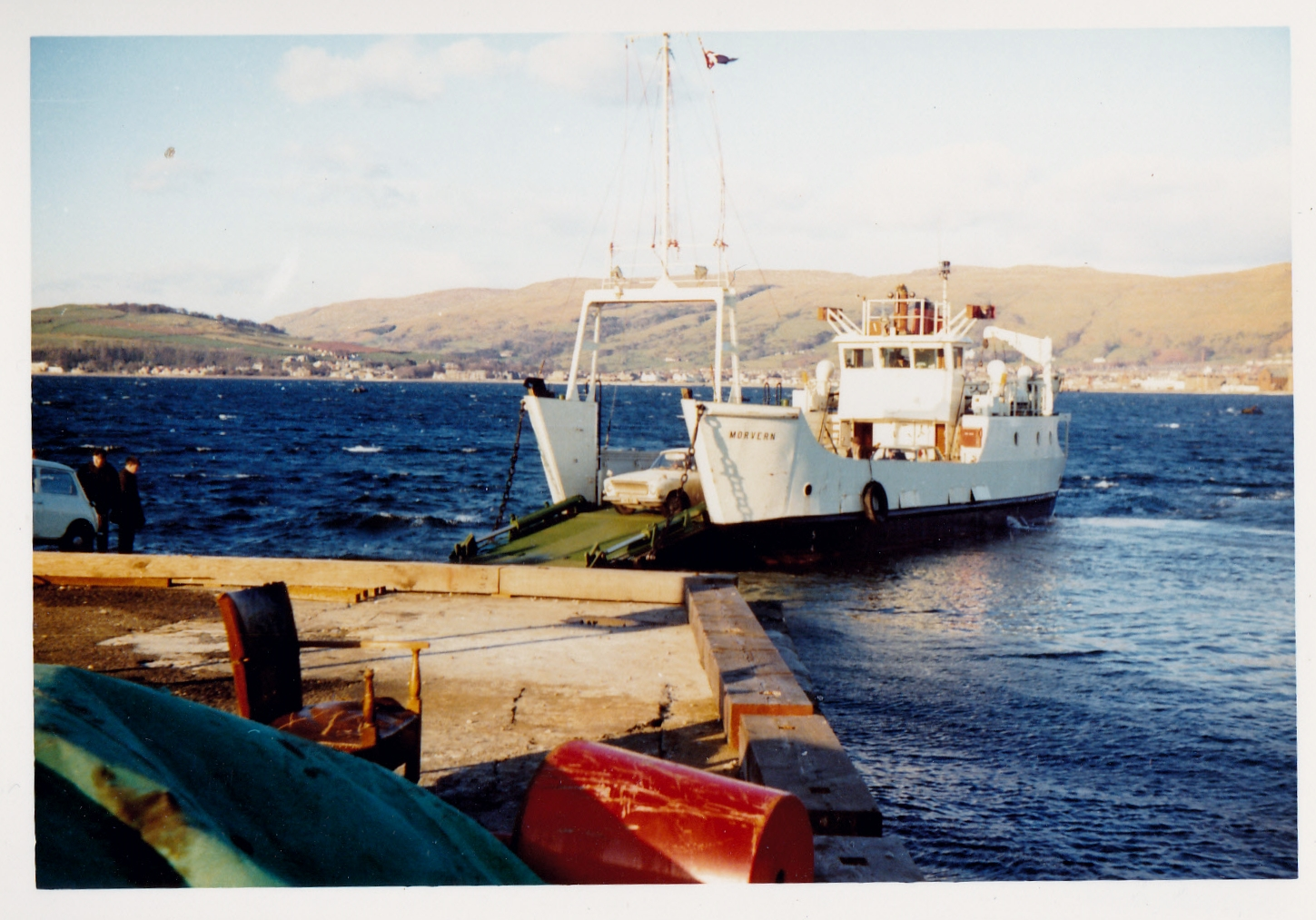 Morvern at Cumbrae Slip (Jim Aikman Smith)