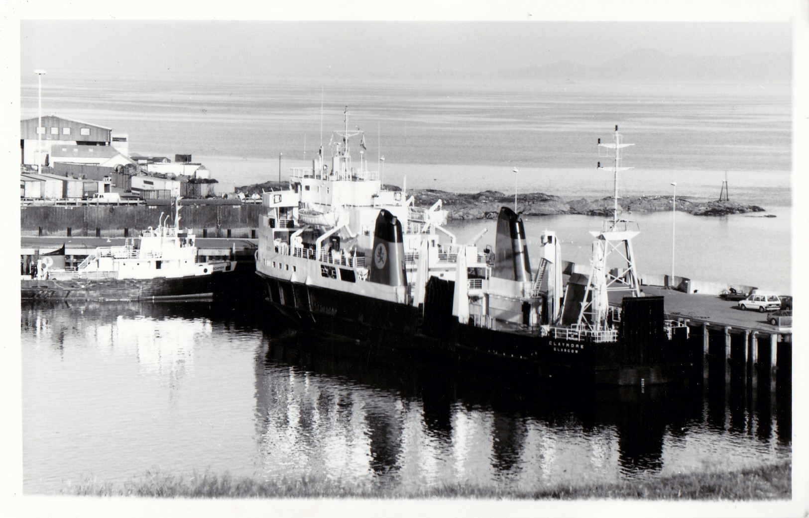 Claymore and Lochmor at Mallaig (Jim Aikman Smith)