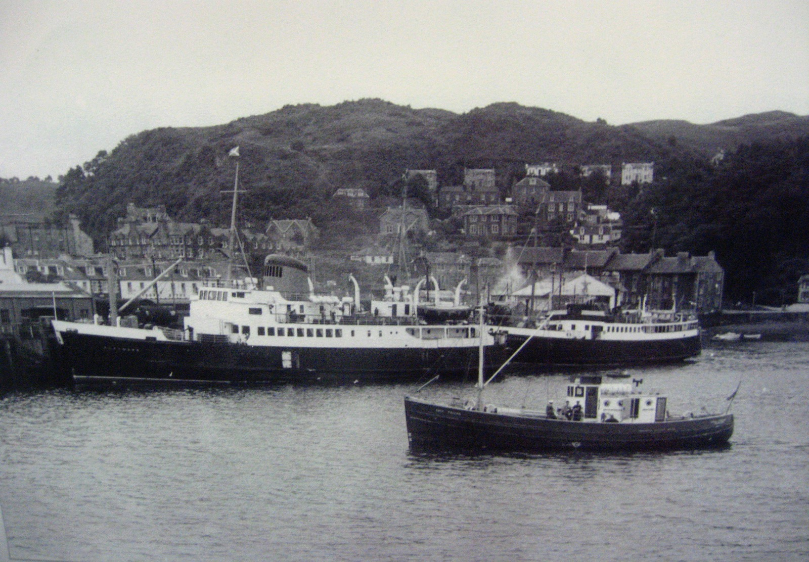 Claymore, Lochearn and Toscaig at Oban