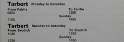 The 1970 schedule