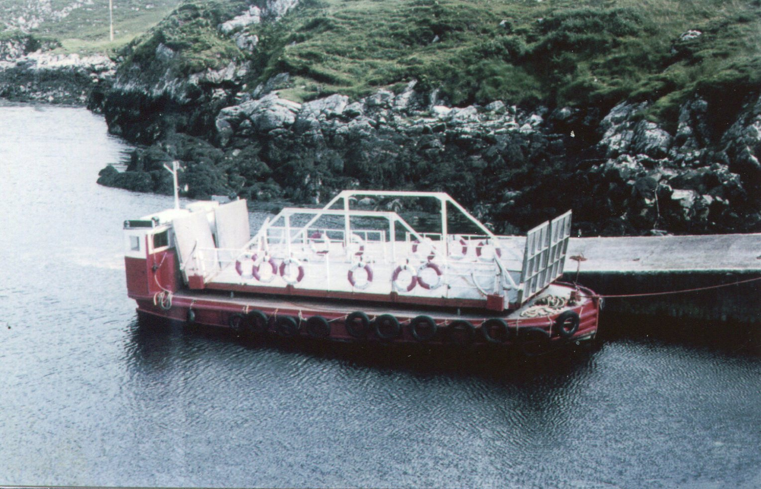 Scalpay (I) ex Maid Of Glencoe (II) at the Scalpay slip in July 1969