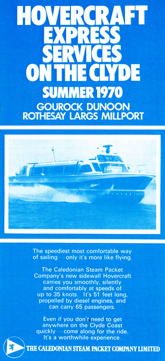 1970 Timetable Front