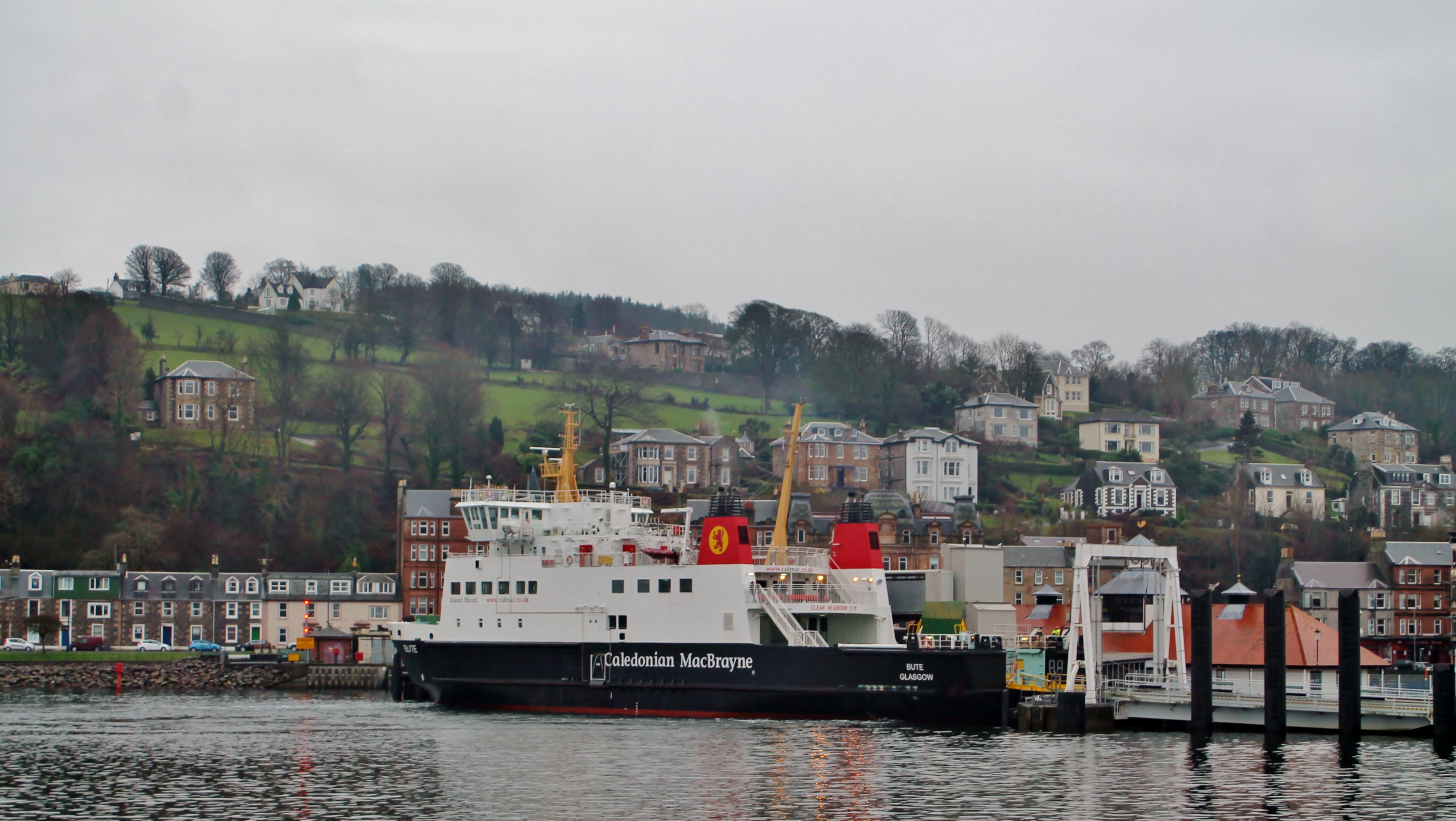 Bute at Rothesay (Ships of CalMac)