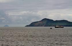 Isle of Arran on her Saturday morning run