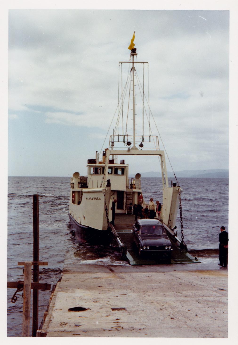 Kilbrannan loading at Claonaig (Jim Aikman Smith)