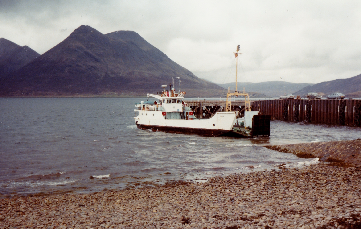 Rhum relieving at Raasay (Jim Aikman Smith)
