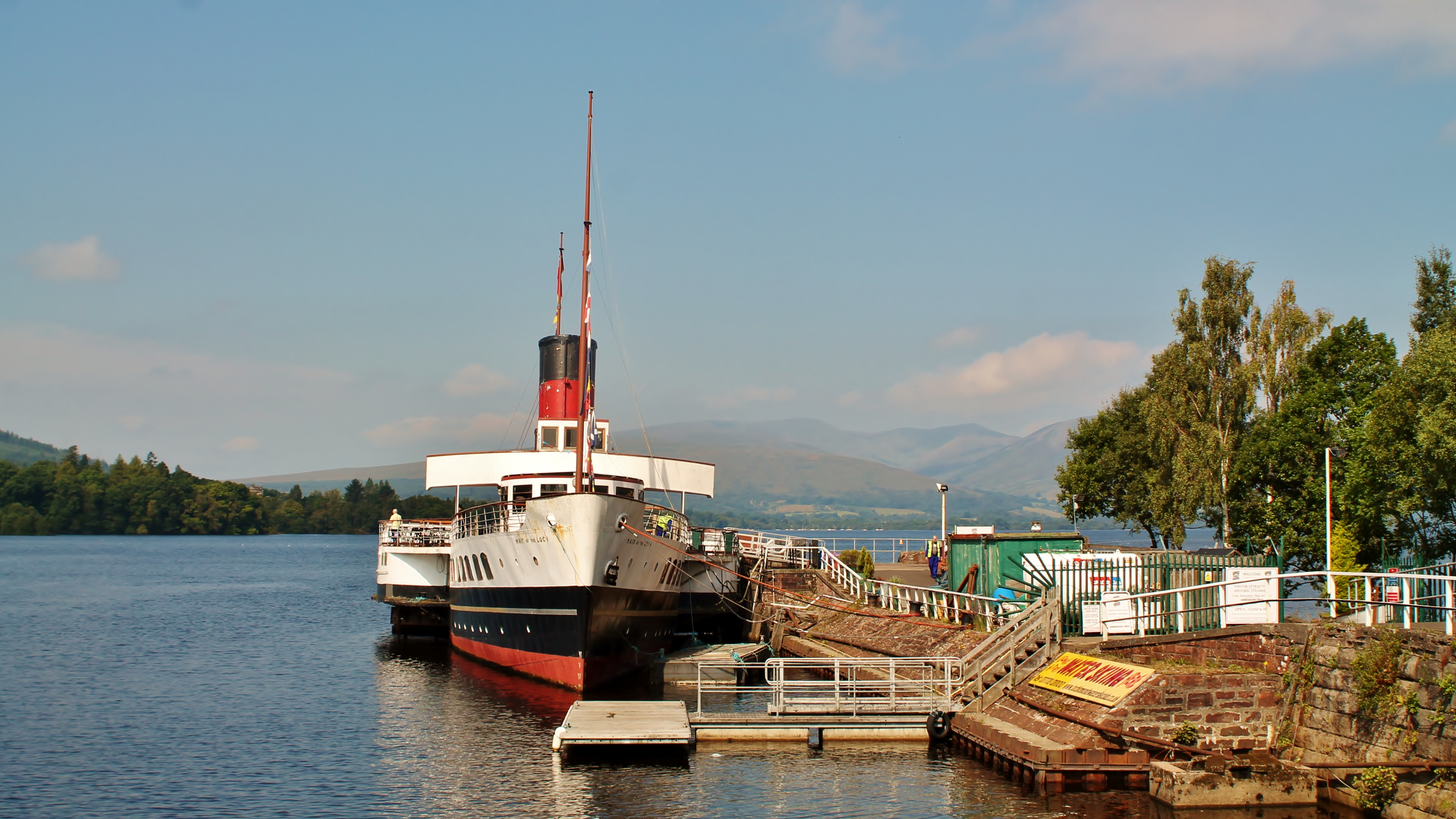 Maid of the Loch as she is now