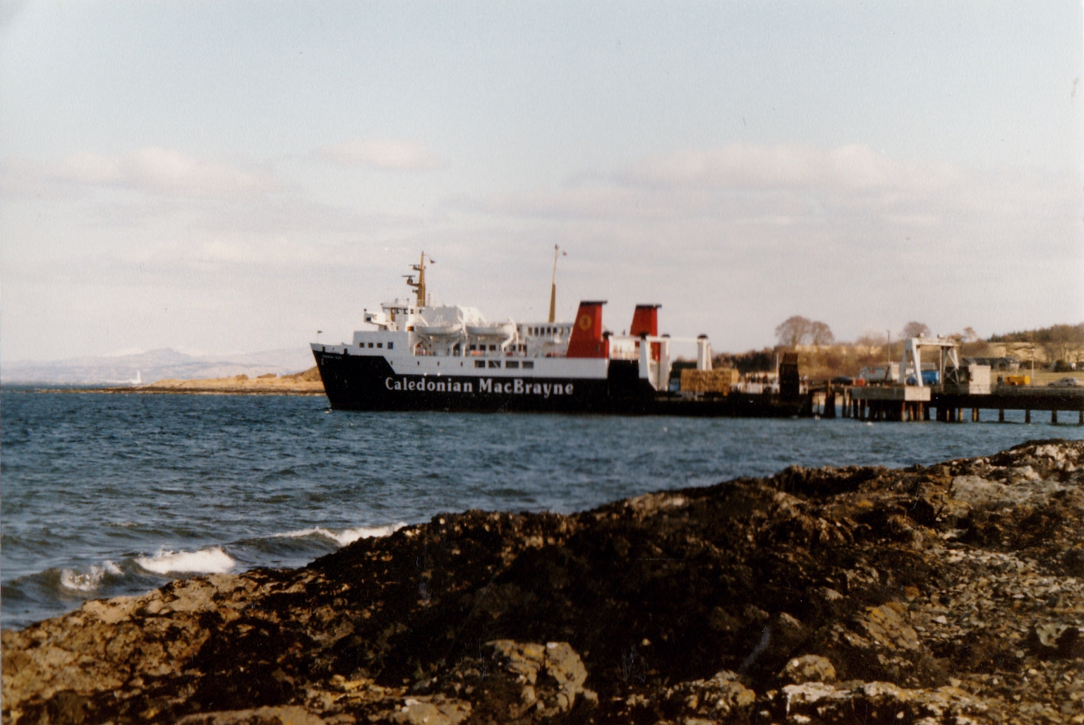 Hebridean Isles at Craignure (Jim Aikman Smith)