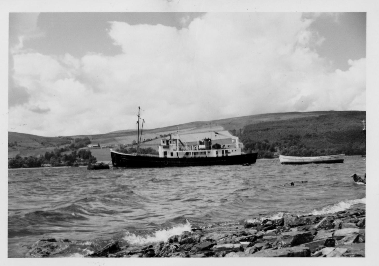 Loch Eynort at a mooring