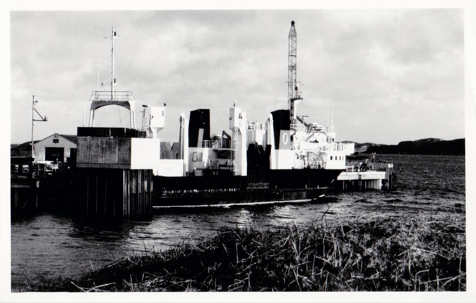 Pioneer at Lochmaddy