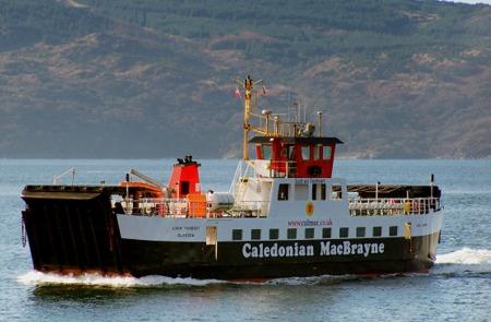 Loch Tarbert on winter relief service (Ships of CalMac)