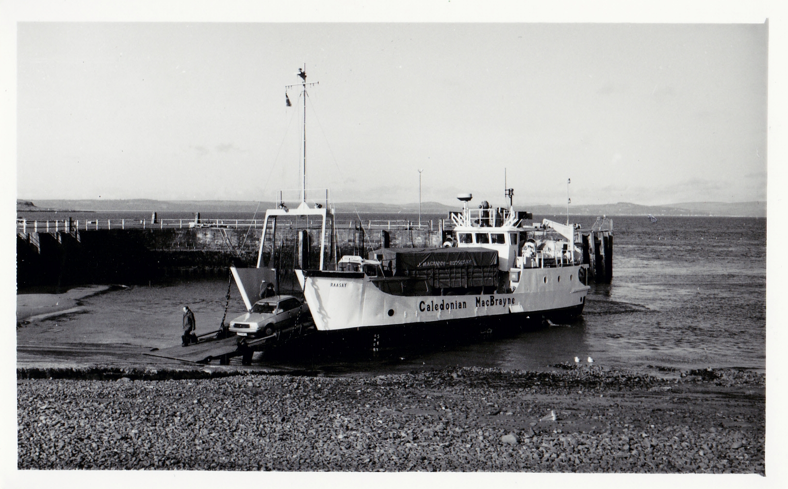 Raasay at Largs (Jim Aikman Smith)
