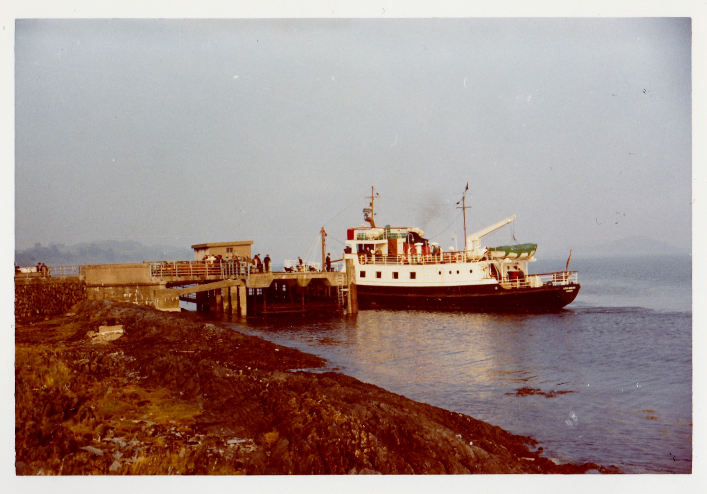 Loch Arkaig arriving at Lismore (Jim Aikman Smith)