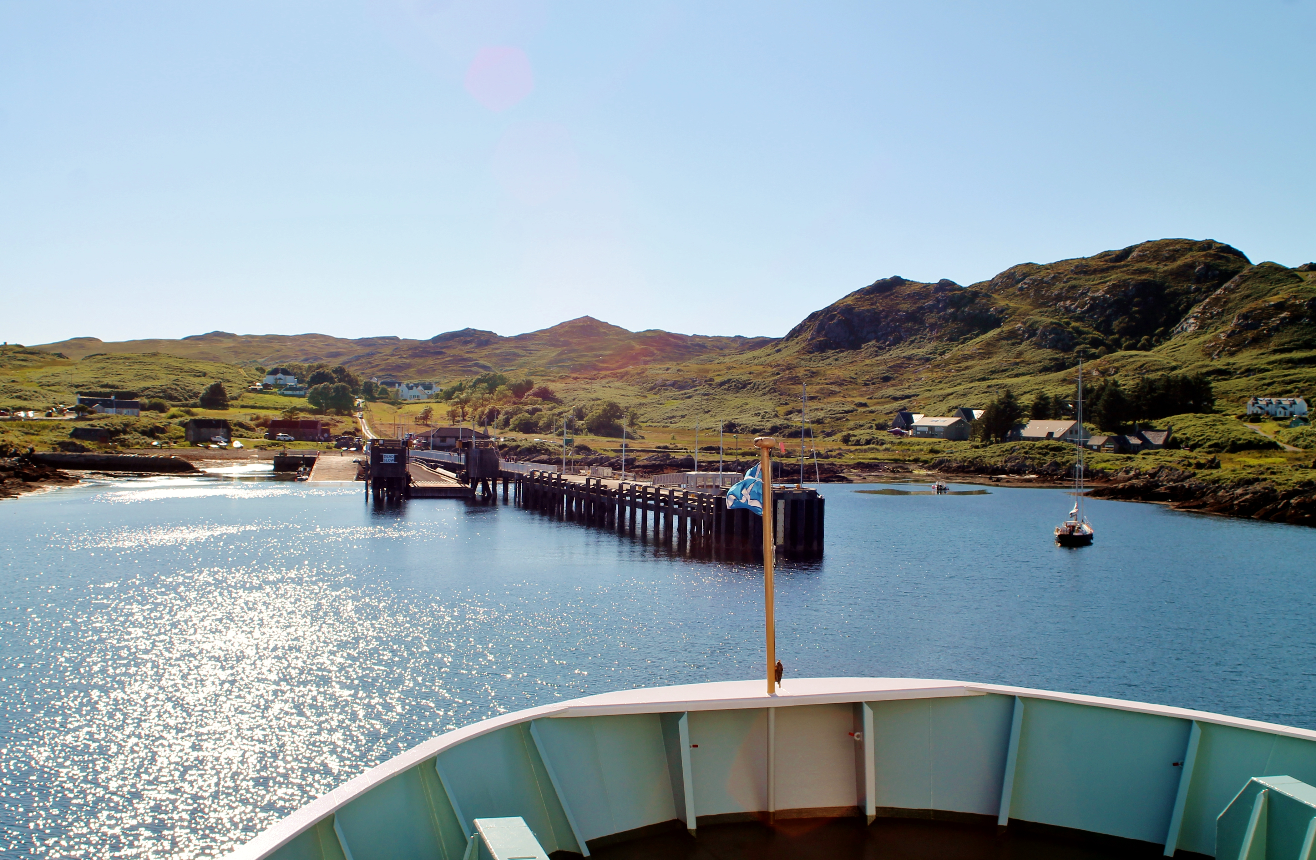 Approaching Colonsay