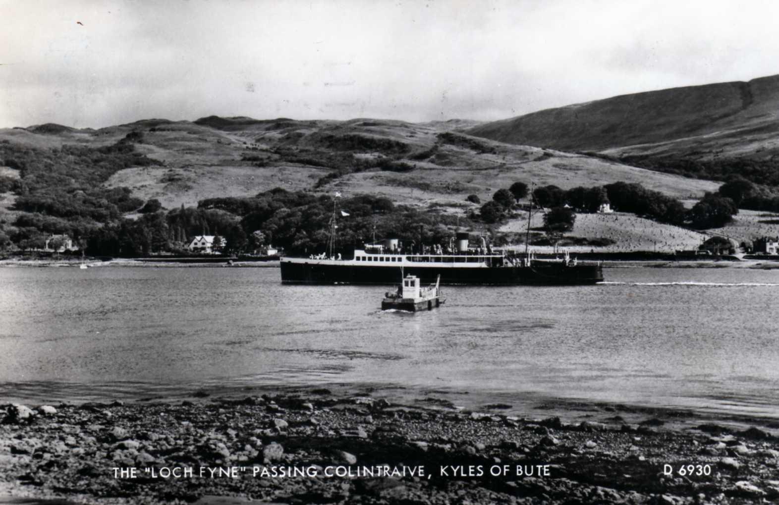 Eilean Fraoch II and Lochfyne