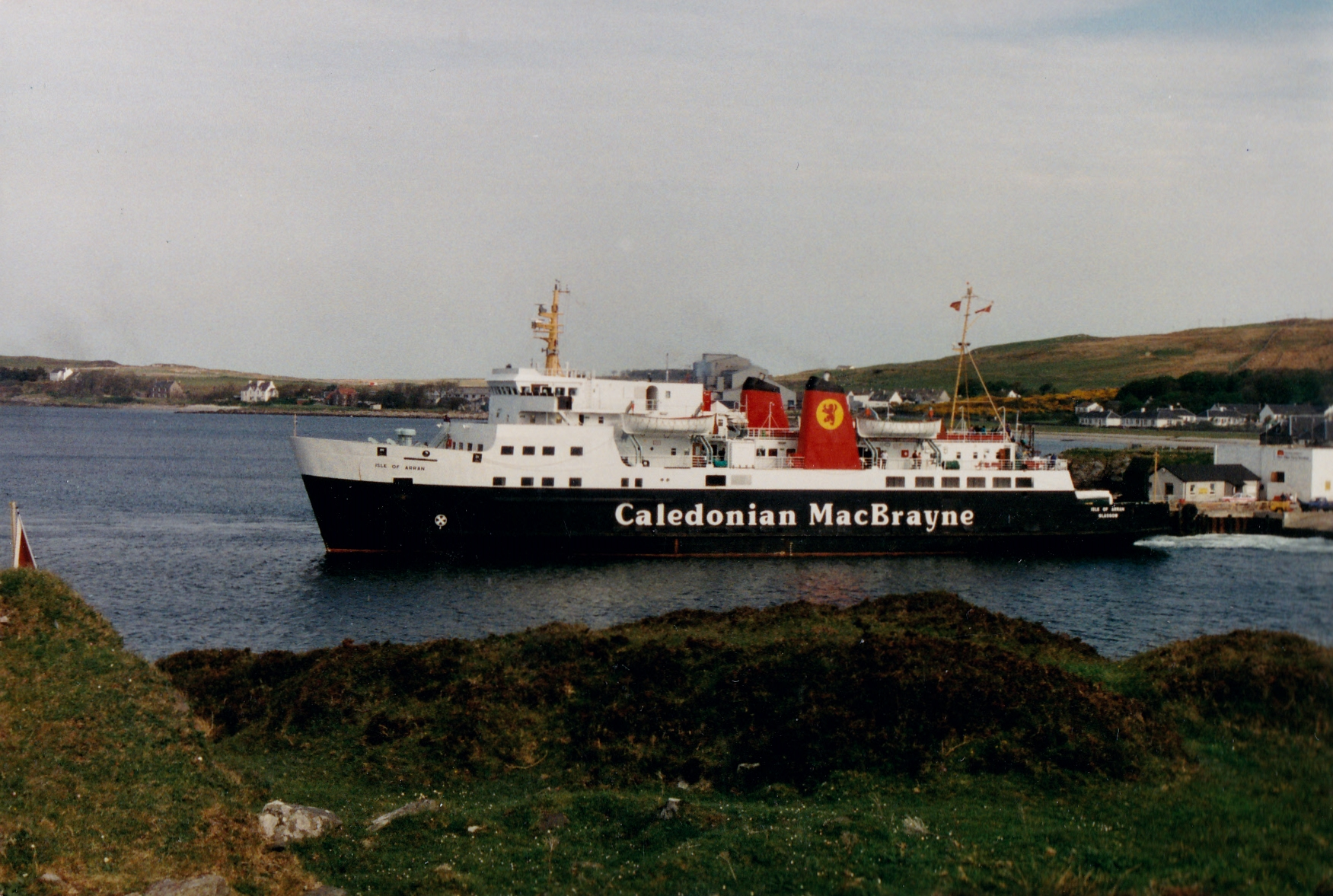 Isle of Arran at Port Ellen (Jim Aikman Smith)
