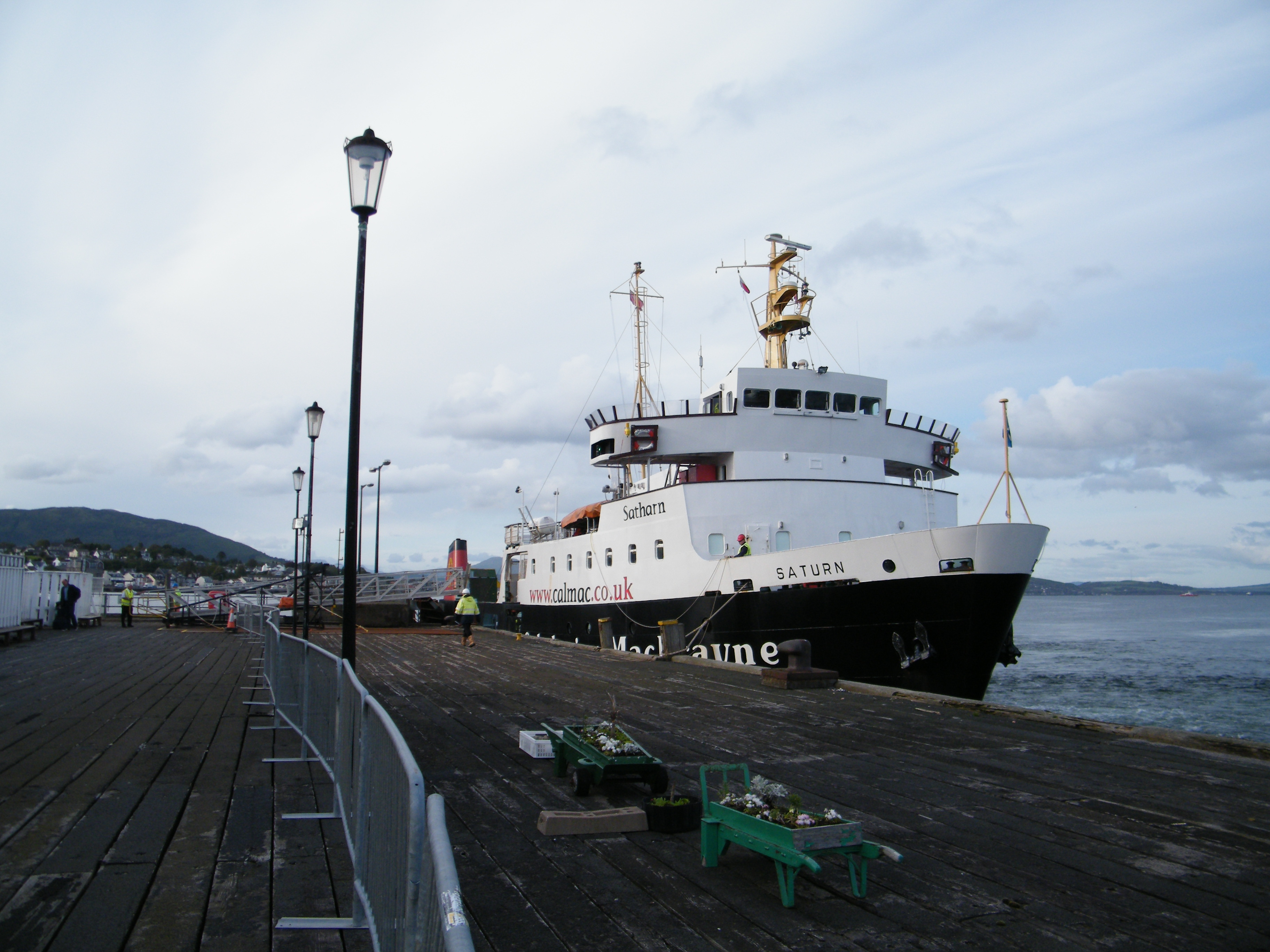 Saturn at Dunoon (Ships of CalMac)