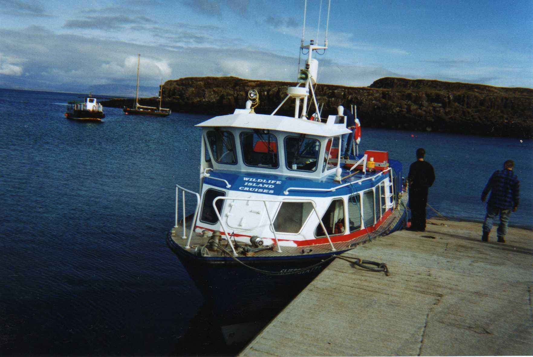 Seen behind Arisaig Marine's MV Sheerwater