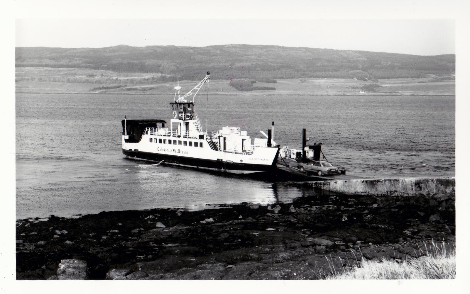 Isle of Cumbrae at Fishnish (Jim Aikman Smith)
