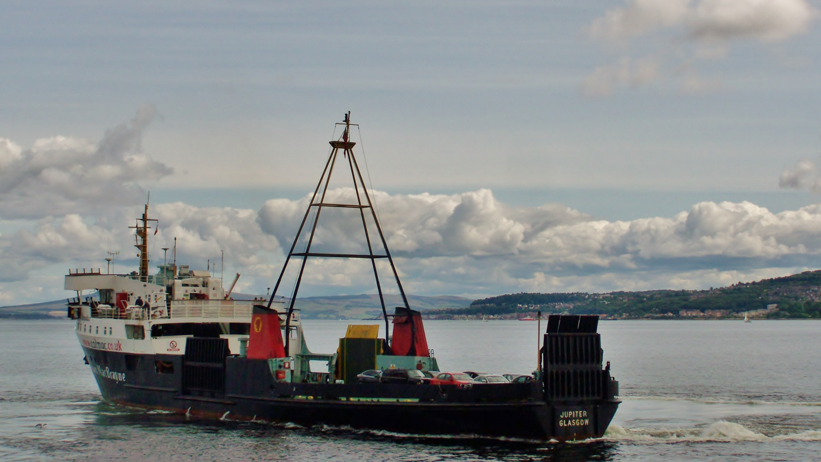 Jupiter off Dunoon (Ships of CalMac)