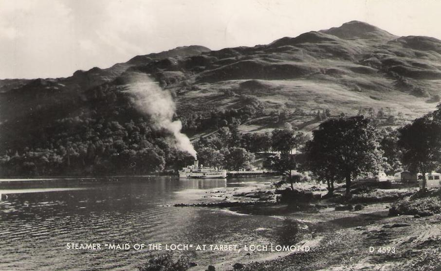 Maid of the Loch at Tarbet