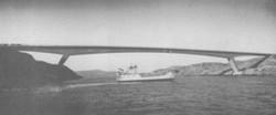 Rhum - last ferry, first bridge crossing