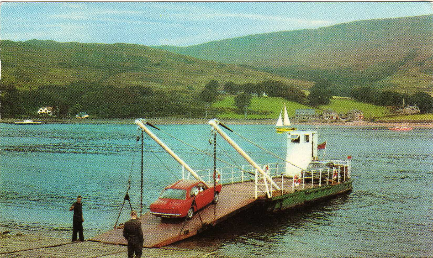 In service at Bute
