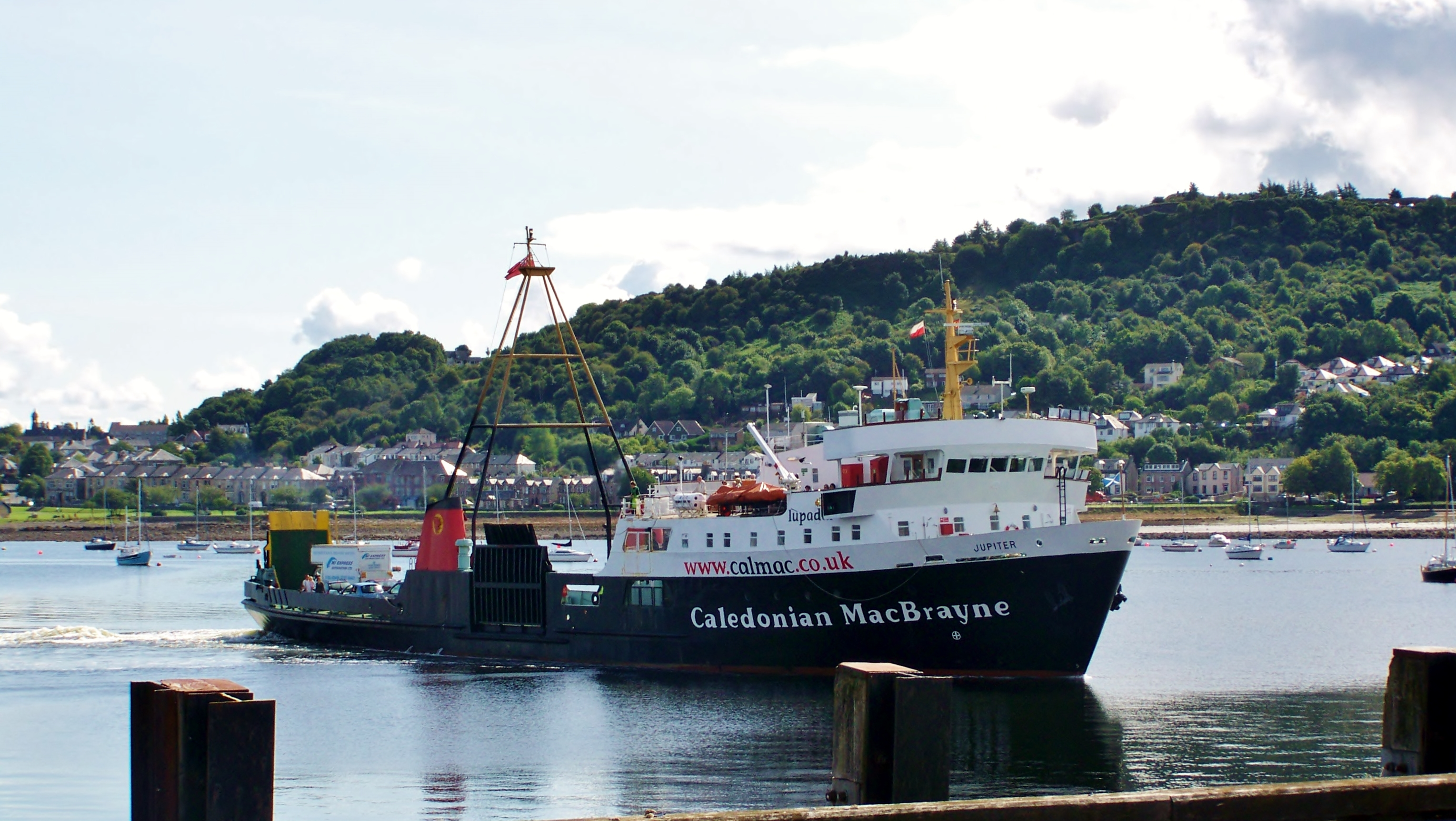Jupiter at Gourock (Ships of CalMac)