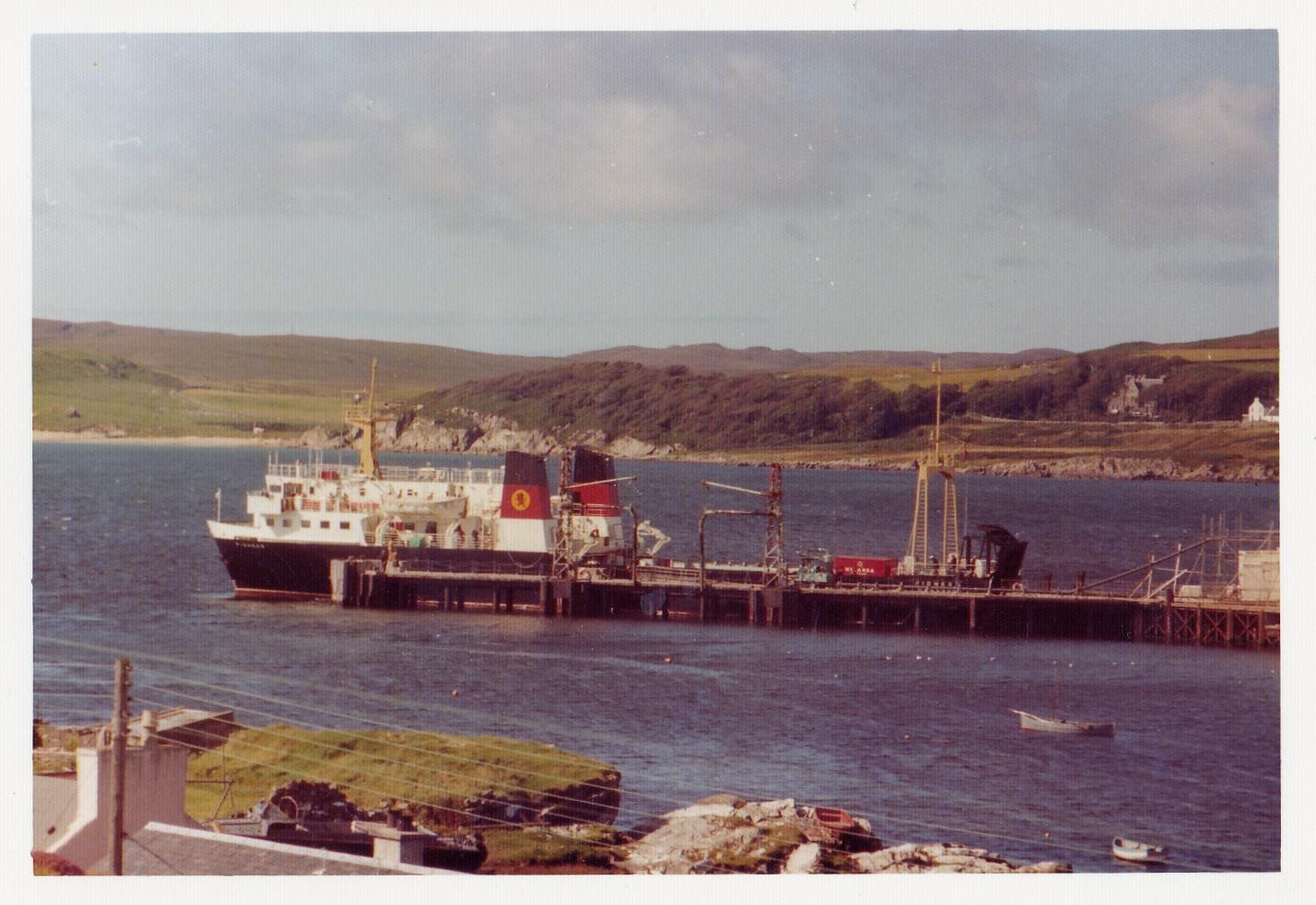 Pioneer at Port Ellen