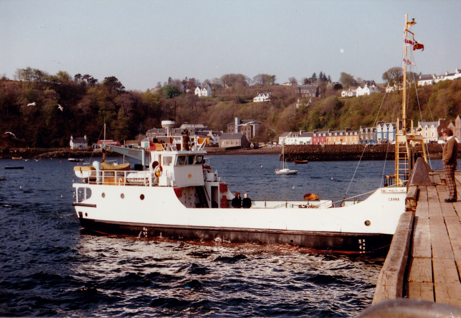 Canna at Tobermory (Jim Aikman Smith)