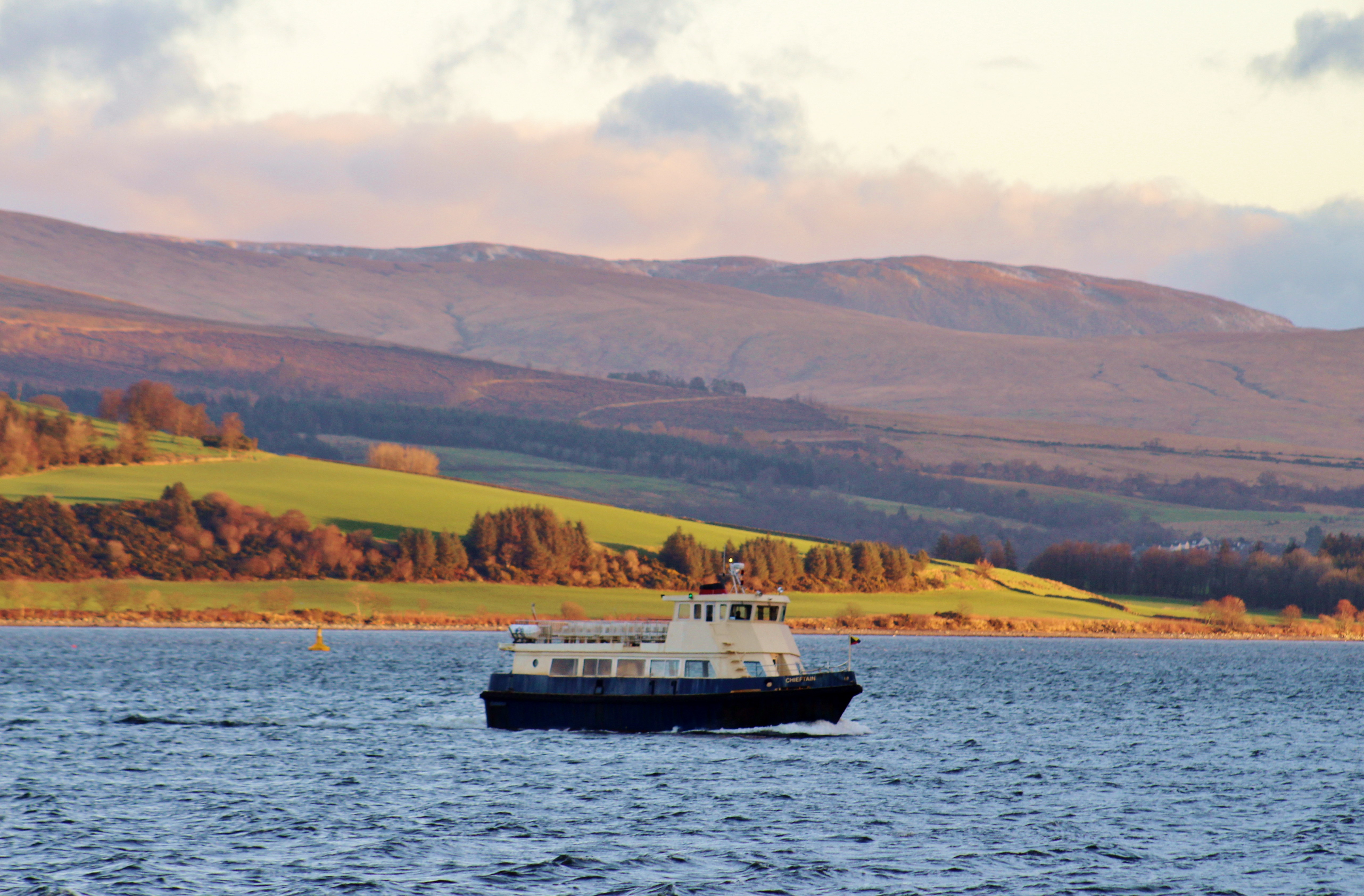 Chieftain crossing to Gourock (Ships of CalMac)
