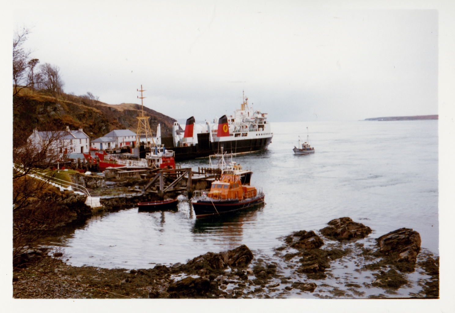 Claymore alongside at Port Askaig (Jim Aikman Smith)