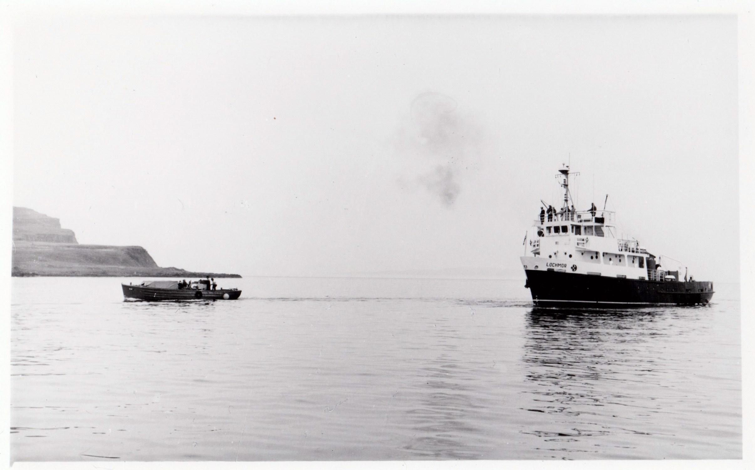 Lochmor and Ulva off Eigg