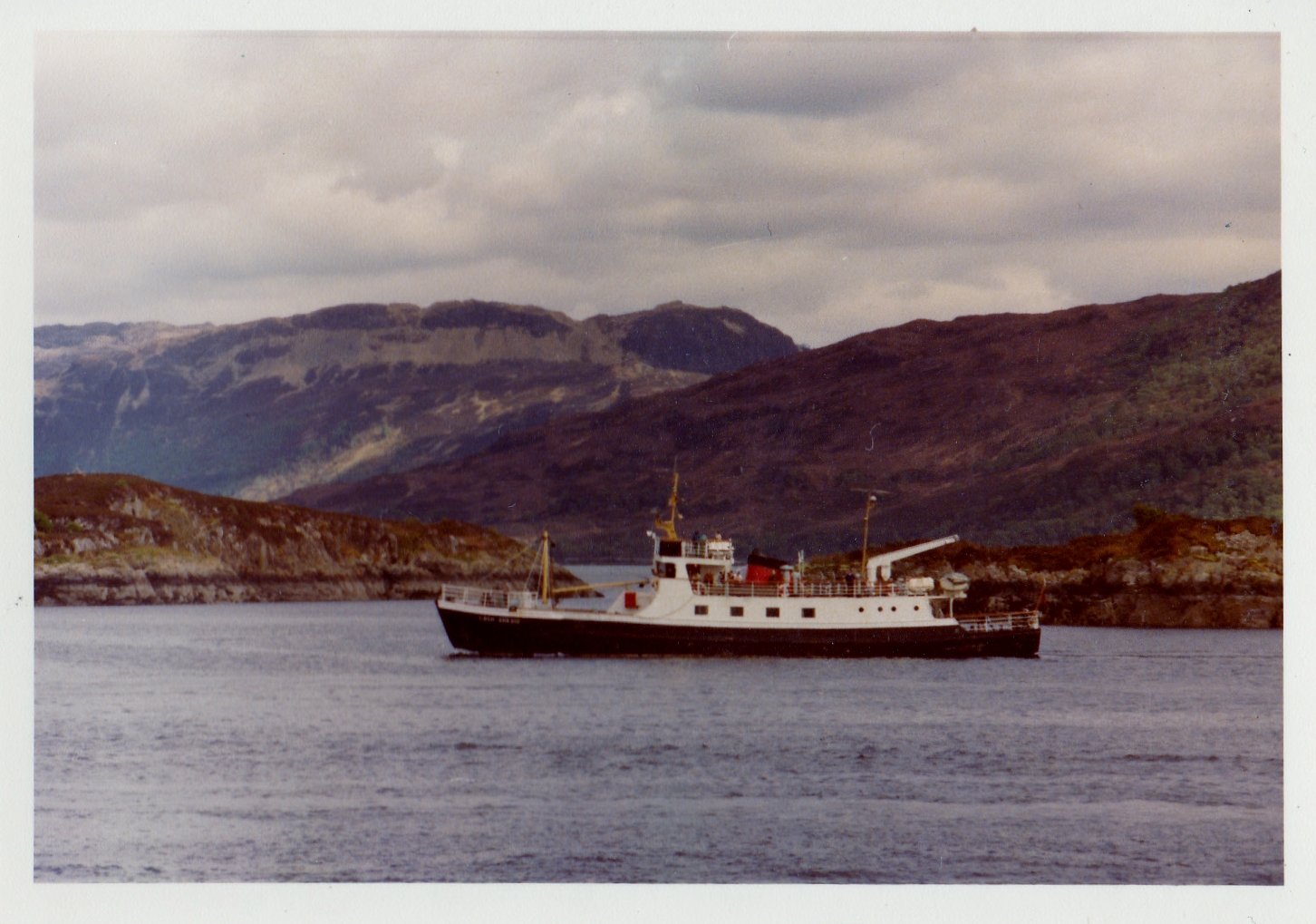 Passing Kyle of Lochalsh