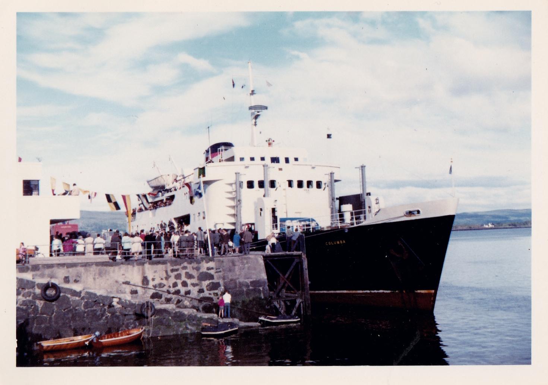 Columba at Tobermory (Jim Aikman Smith)