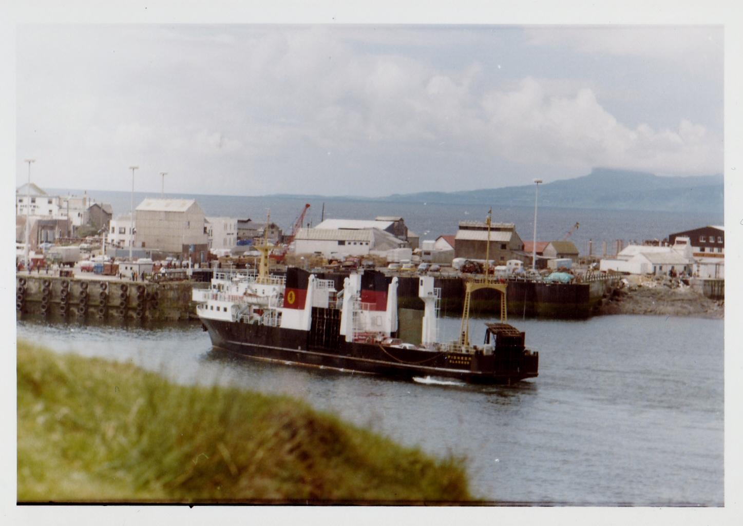 Pioneer at Mallaig