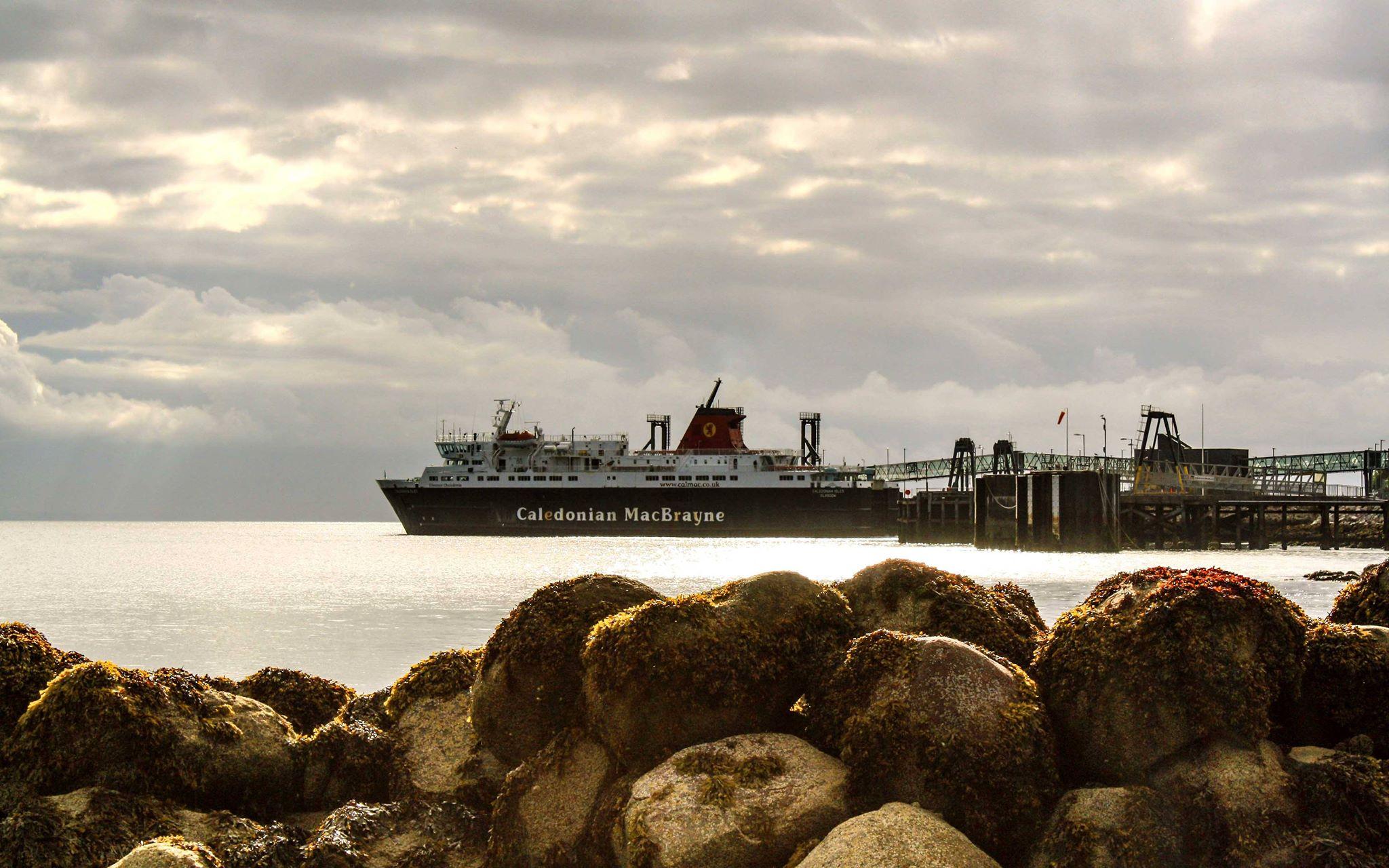 Caledonian Isles at Brodick (Ships of CalMac)